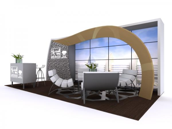 10x20 Custom Trade Show Display & Conference Booth