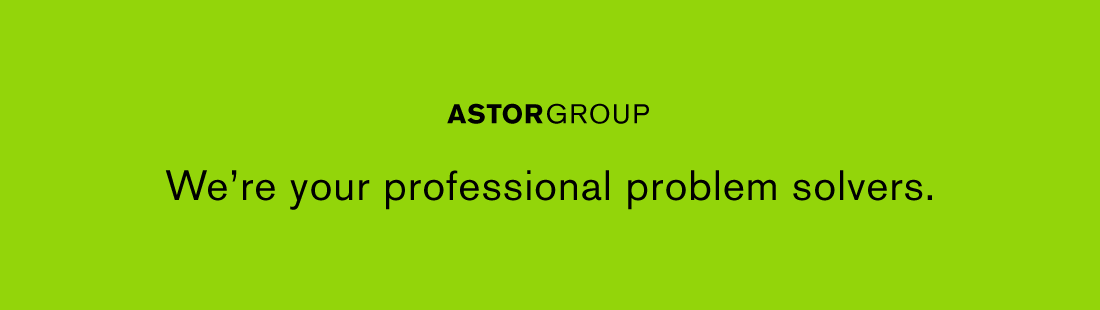 We are your professional problem solvers.